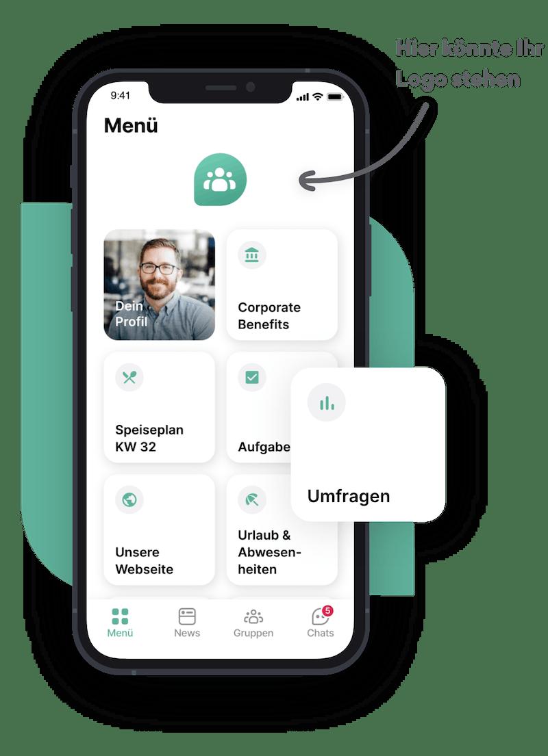 Flip Mitarbeiter App