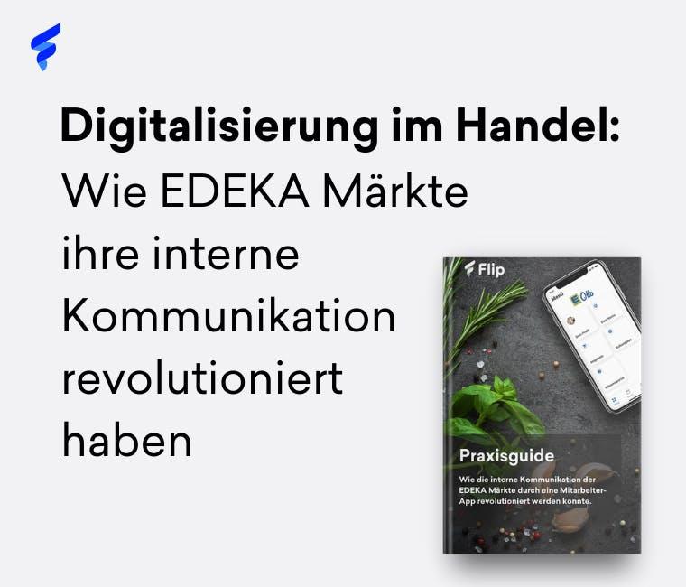 Digitalisierung im Handel  Flyer