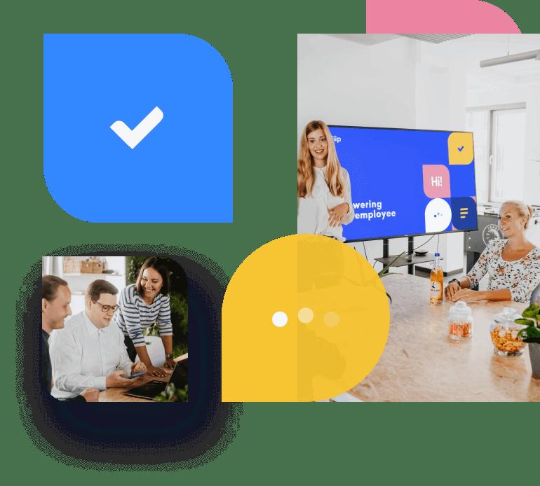 meeting Flip employee App