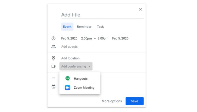 Hangouts & Zoom Meeting Blocks
