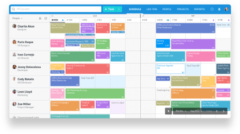 Plan your team capacity with the #1 rated resource management software