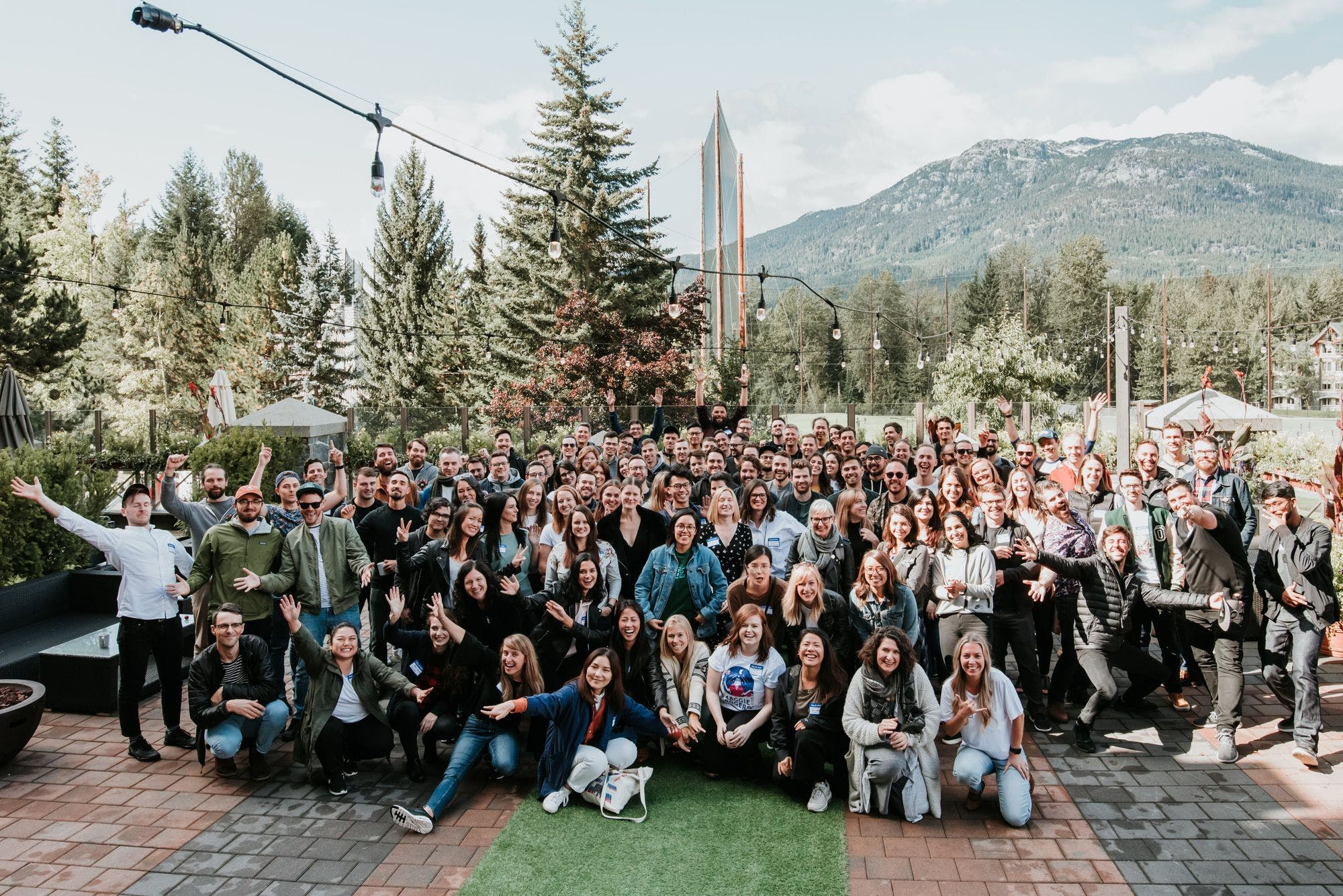The MetaLab team at their 2019 company offsite