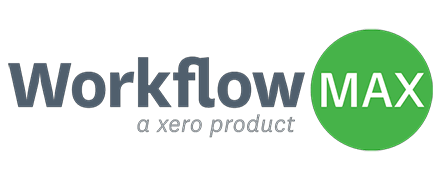 Workflow Max logo resource management integration