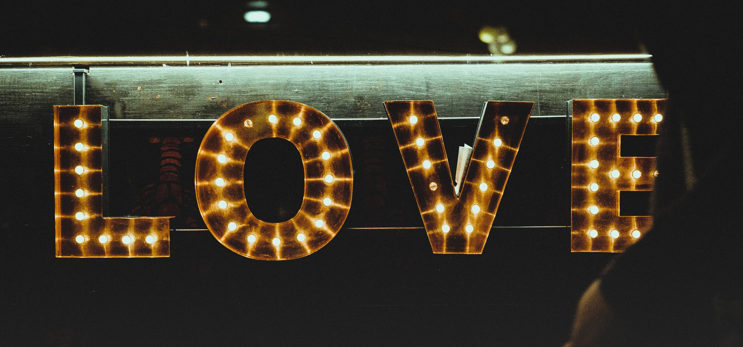 Love light sign