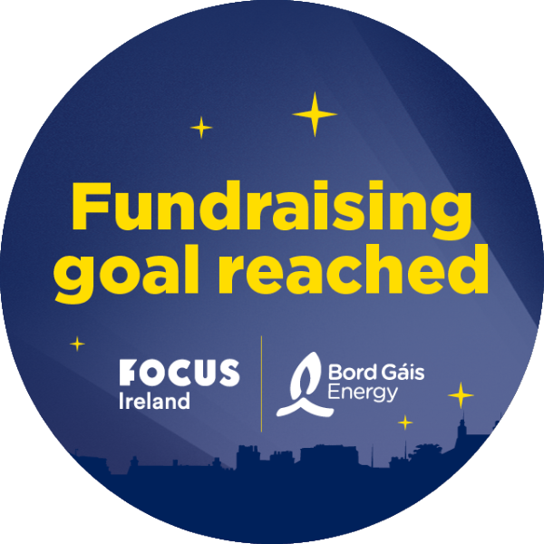 Fundraising goal reached