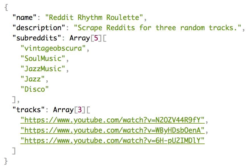 Reddit Rhythm Roulette