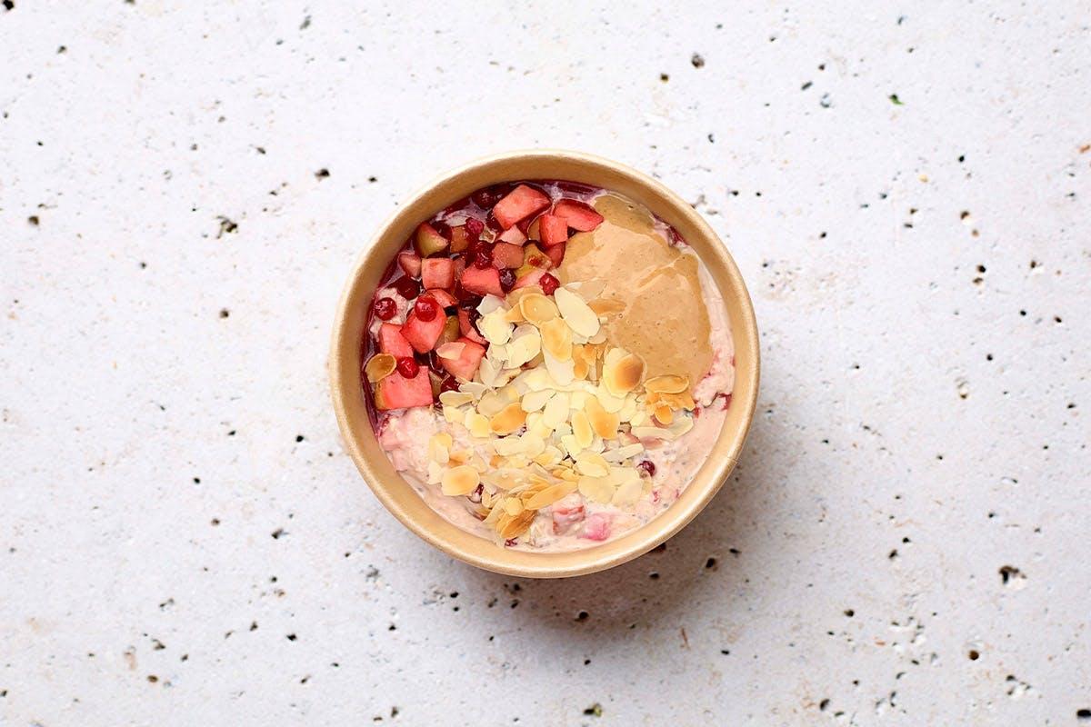 Breakfast Bowl Bircher Oatmeal Apple