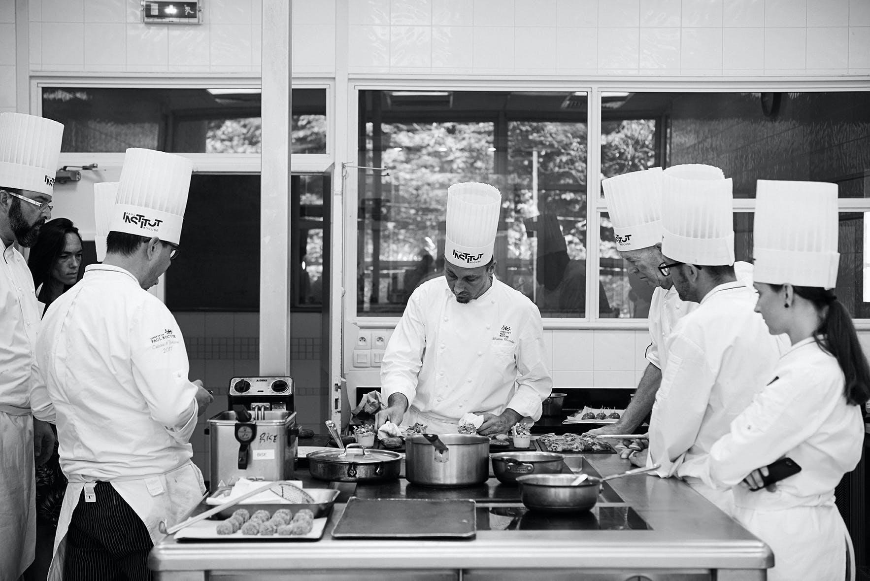 Formation gastronomie à l'institut Paul Bocuse