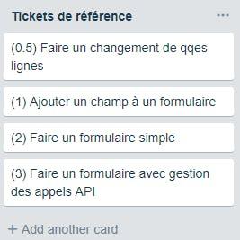 Scrum : les tickets de référence