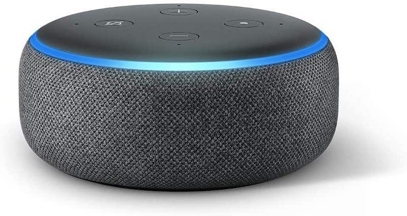 amazon echo dot 3rd gen smart speaker with alexa