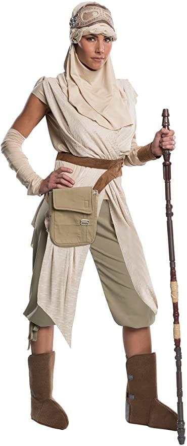 rey start wars costume