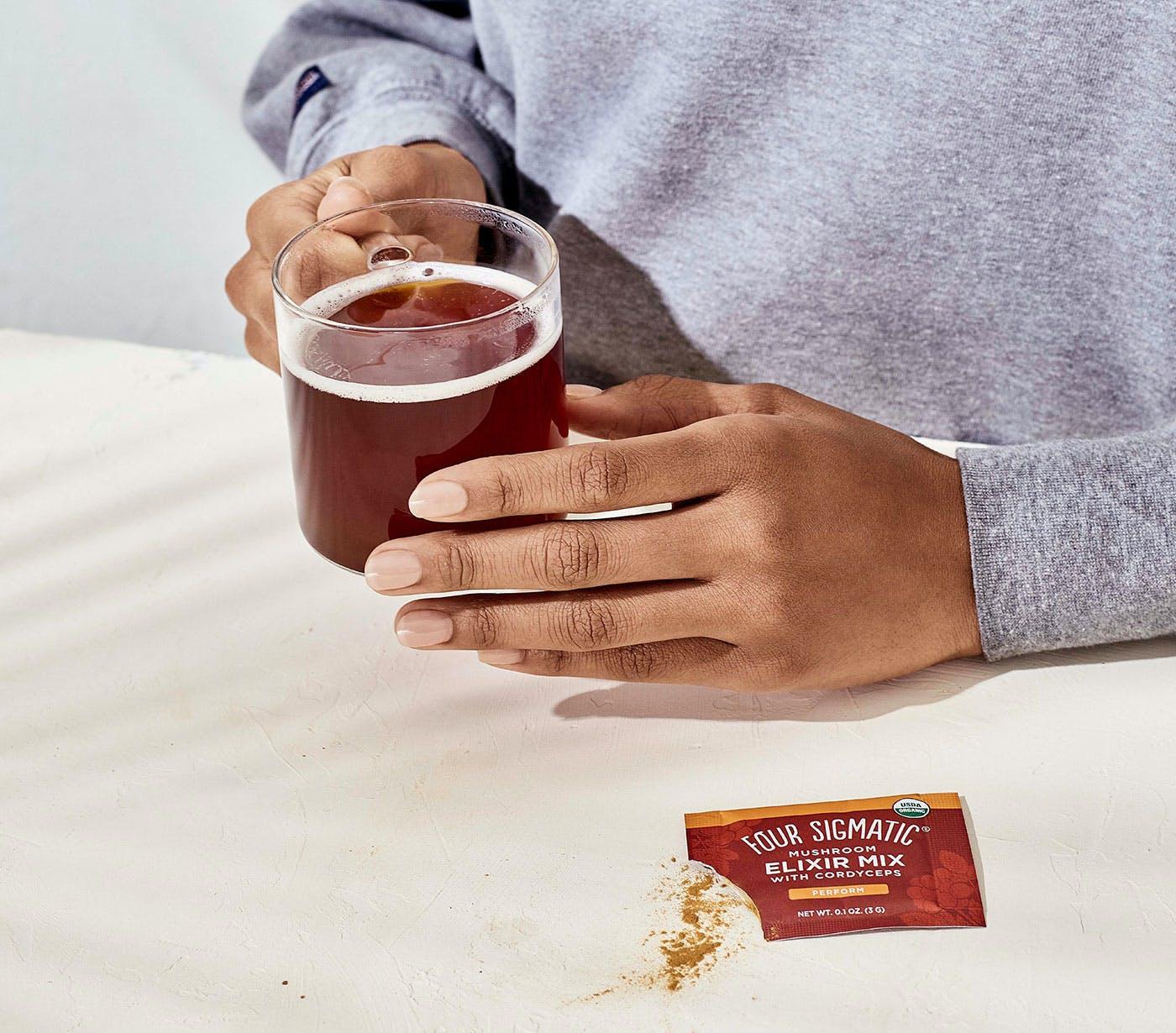 Cordyceps Elixir Tea Drink