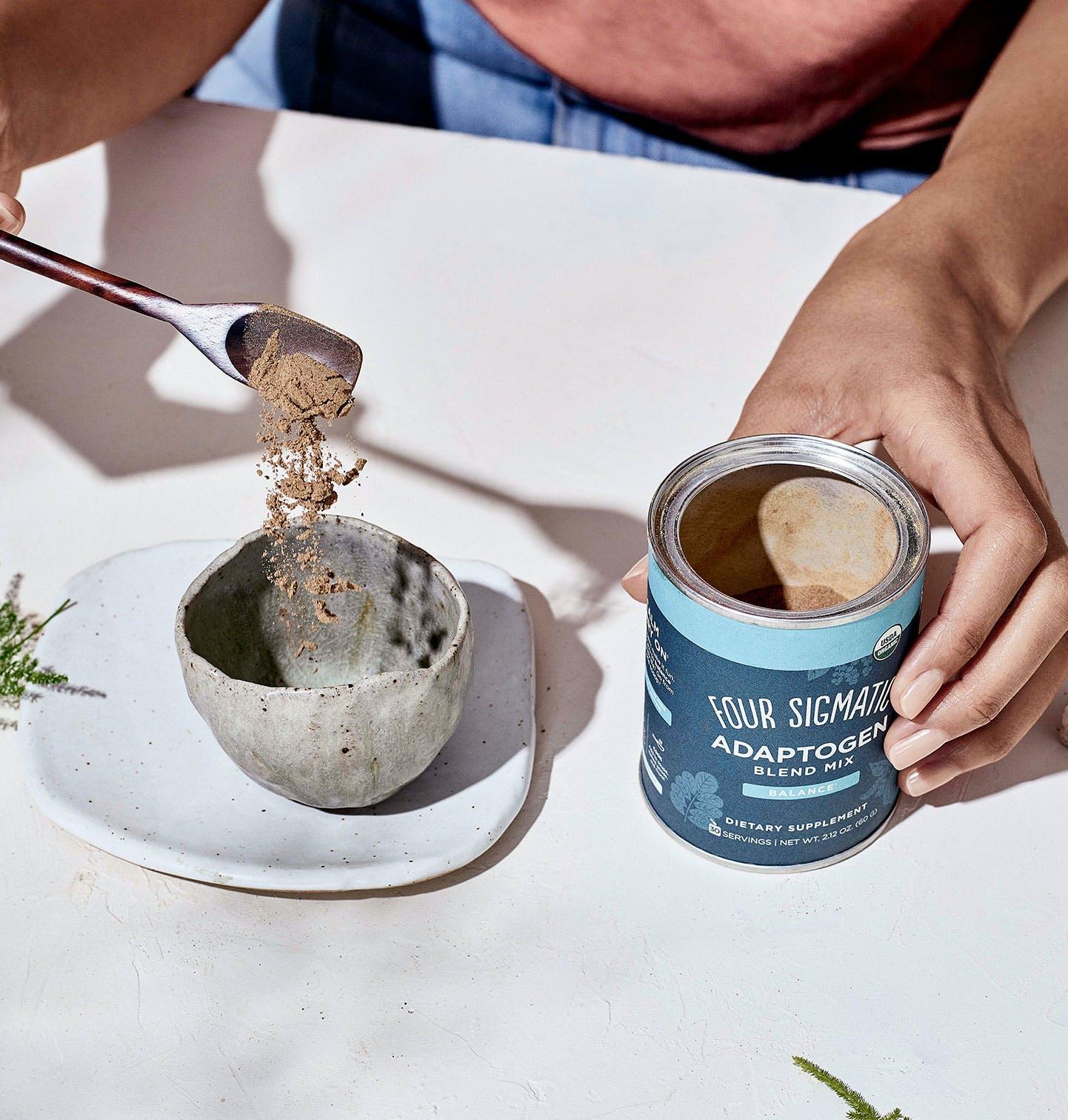 Adaptogen Blend Pour