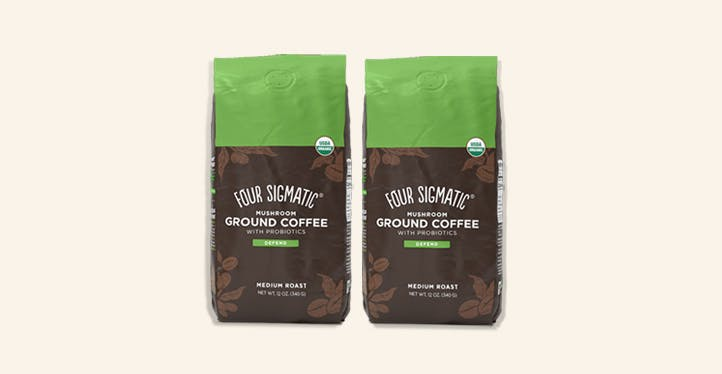 Ground Coffee with Probiotics - One Month