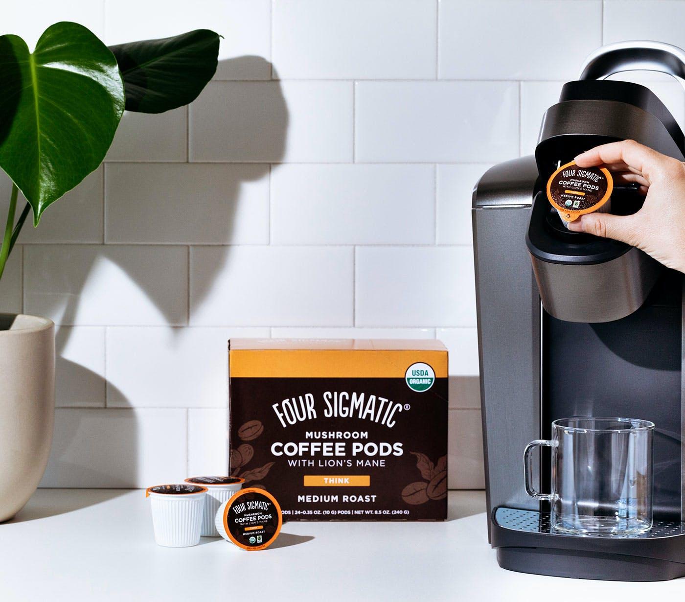 Four Sigmatic Mushroom Coffee Pods