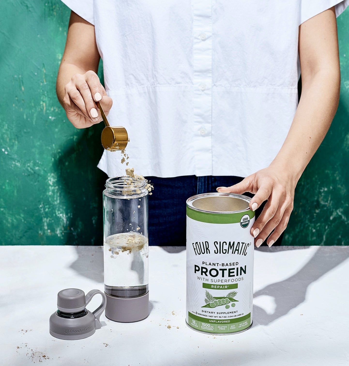 Unflavored Plant-Based Protein