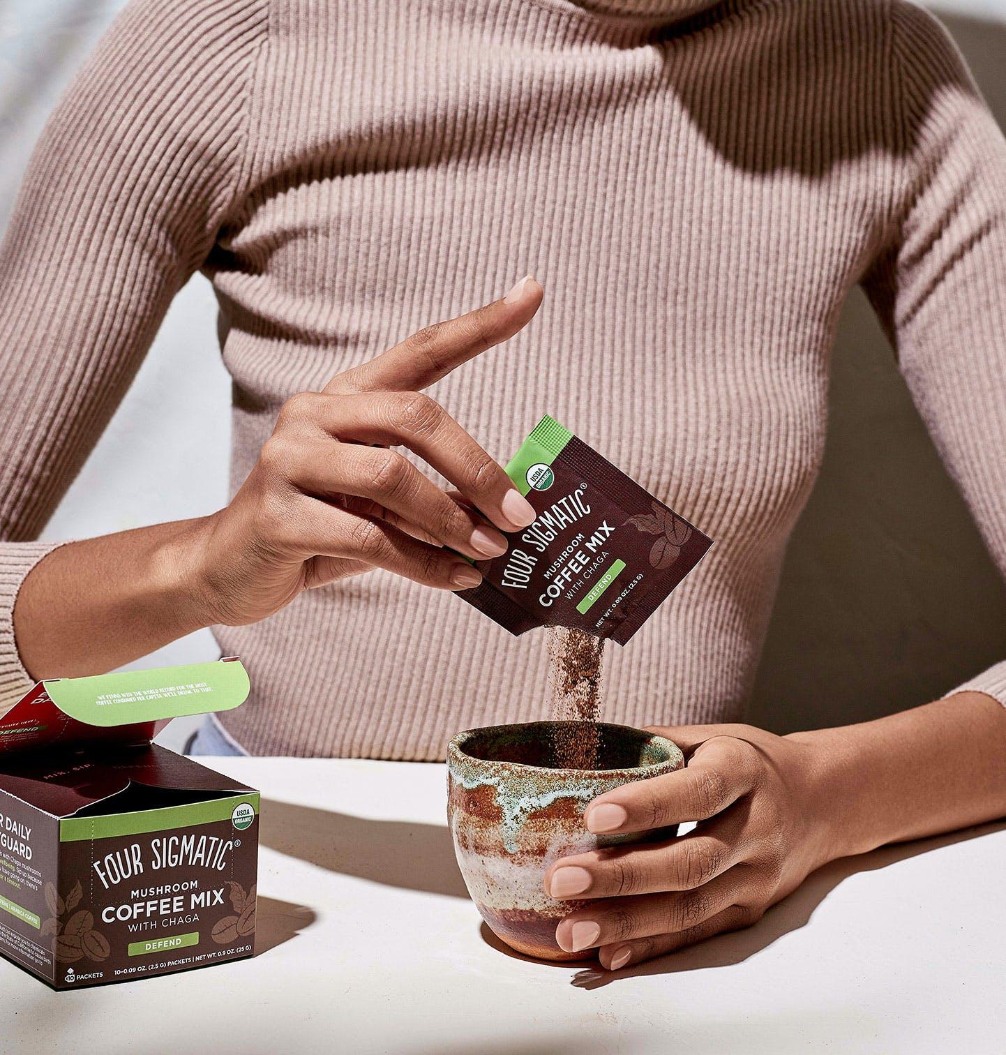 Mushroom Coffee with Chaga Instant