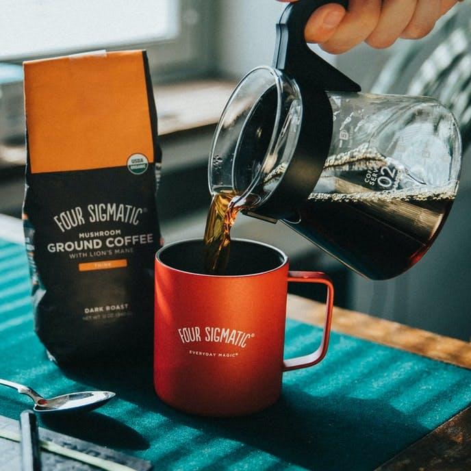 ground lion's mane coffee