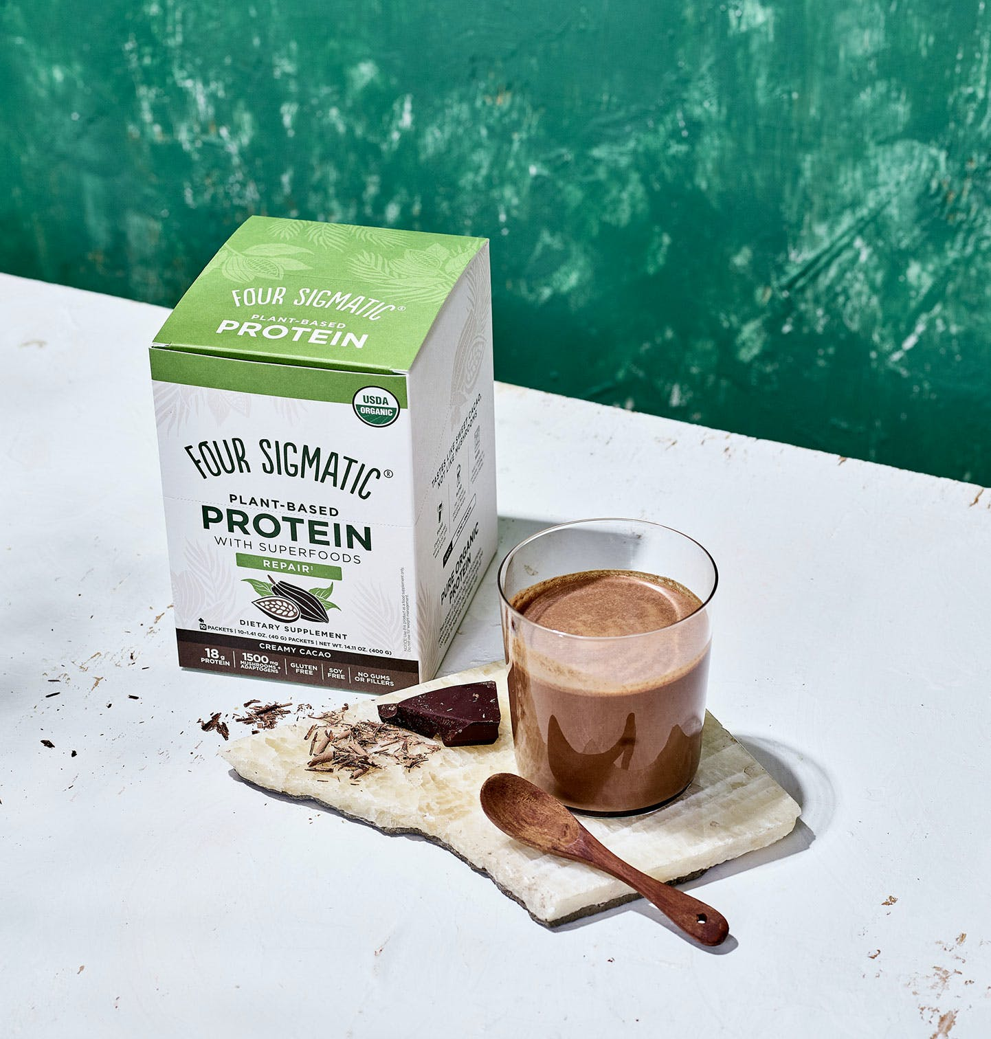 Plant-Based Protein Creamy Cacao