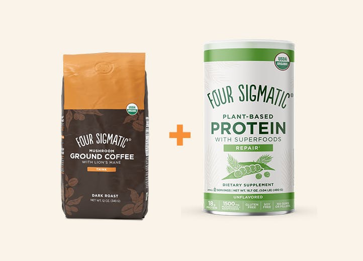 Ground Coffee + Protein Offer