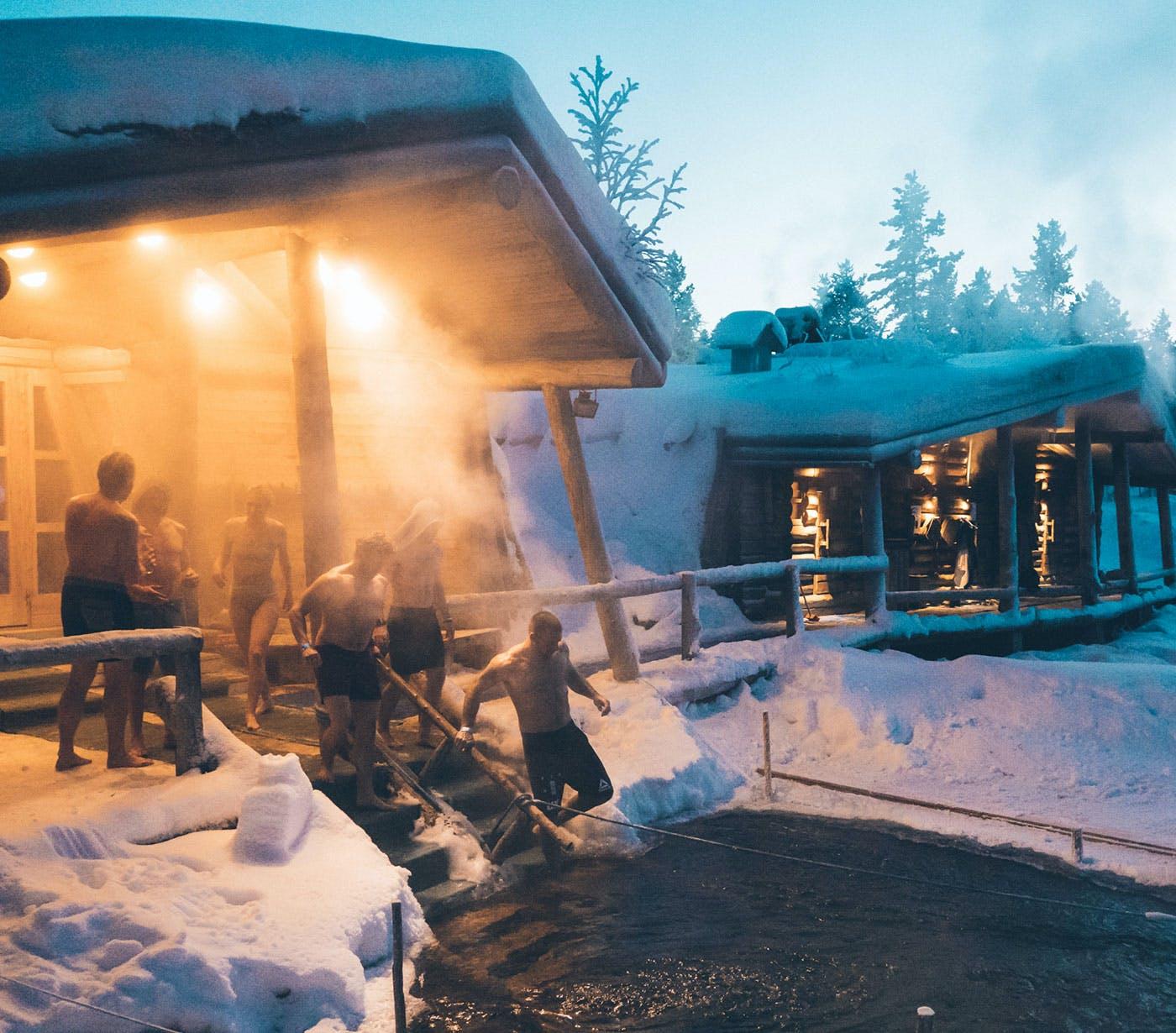Sauna in Finland - Lapland