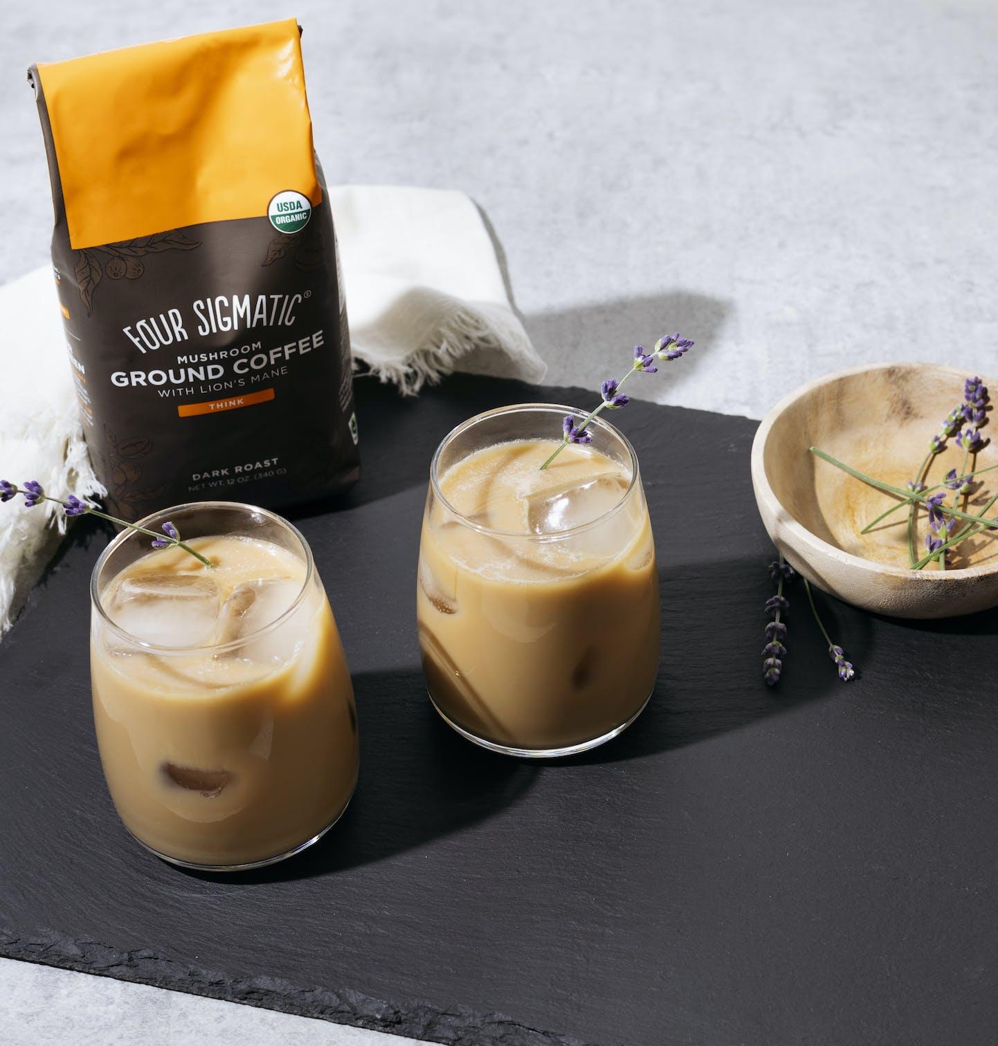 lion's mane iced coffee