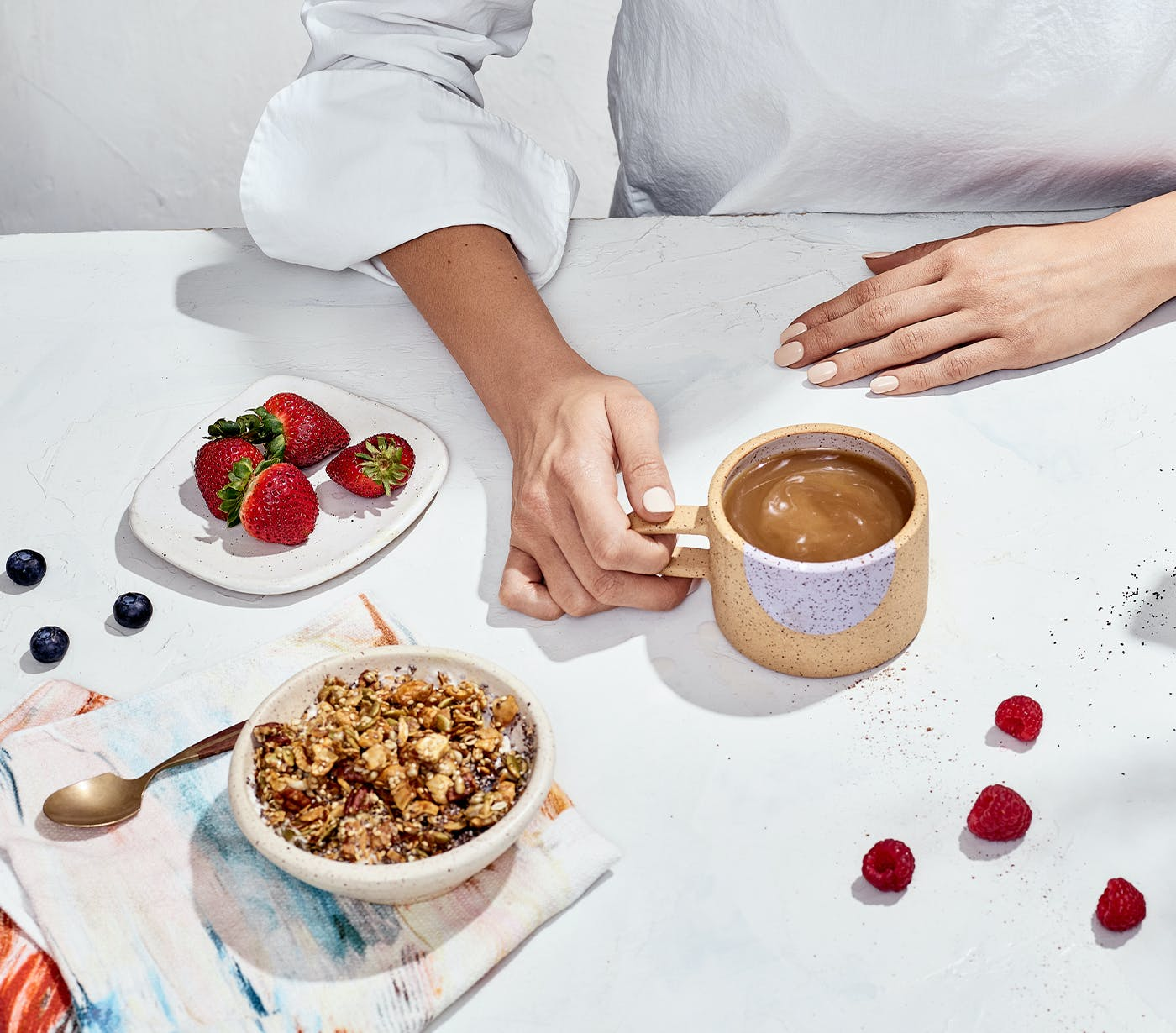 Immune Support Ground Coffee with breakfast