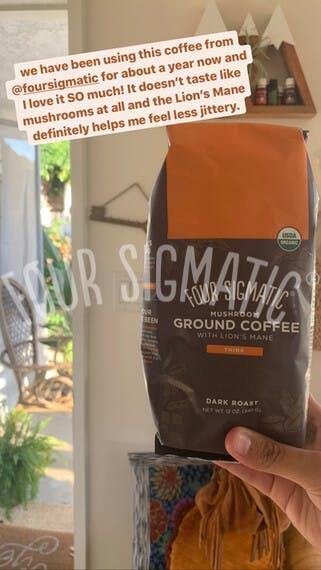 lion's mane ground coffee