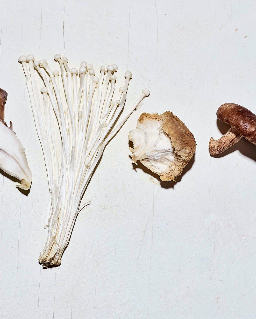 Mushroom ingredients
