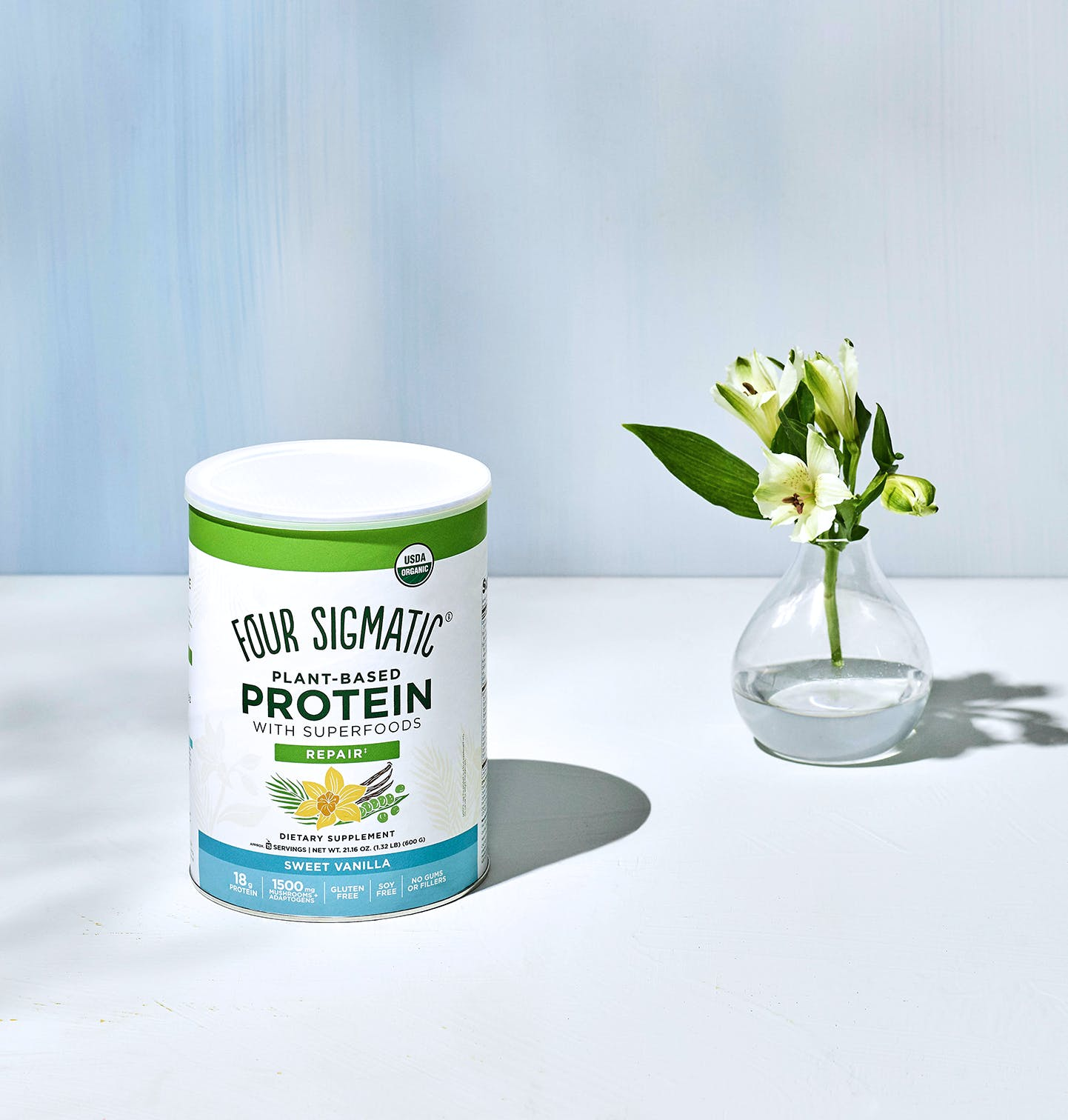 Plant-Based Protein - Sweet Vanilla