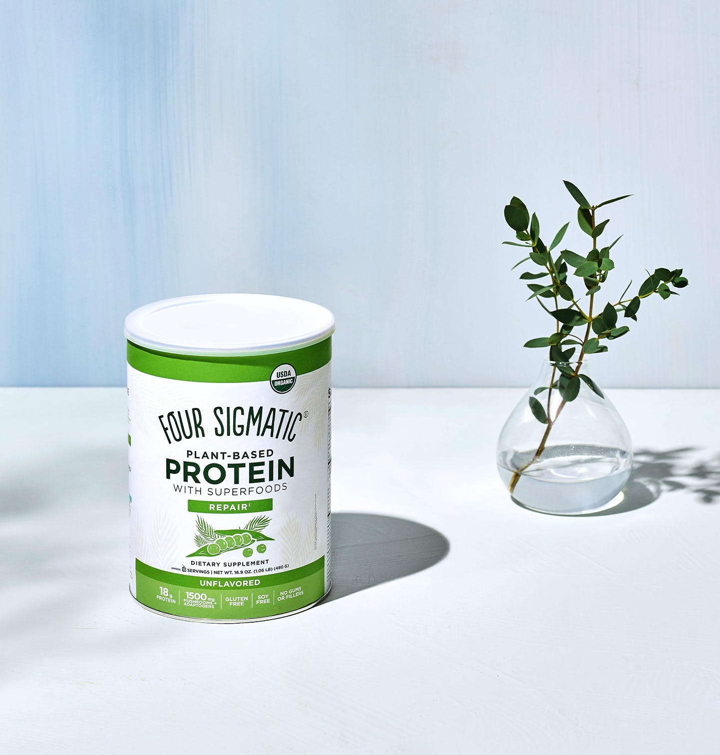 Protein Can Unflavored