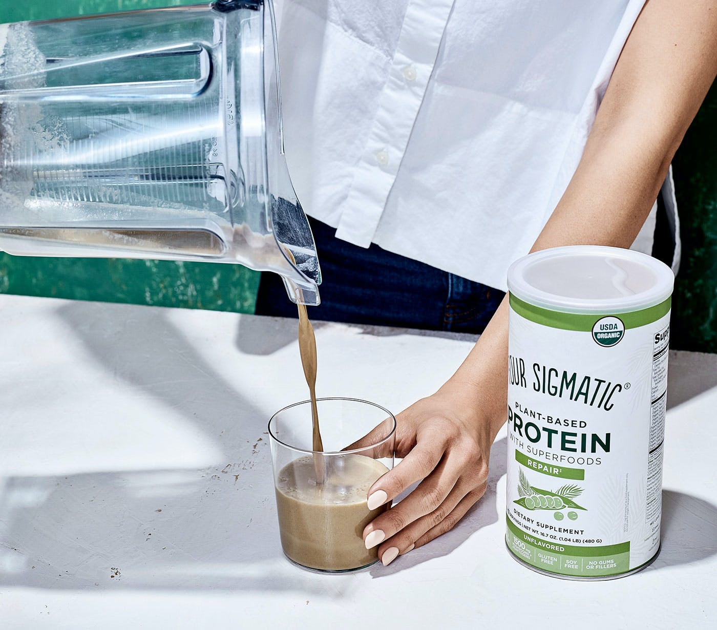 Plant-Based Protein Drink
