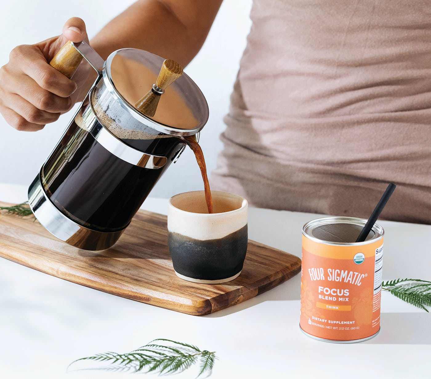 Pouring Focus Blend
