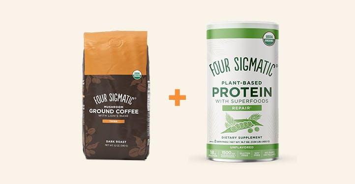 COFFEE + PROTEIN