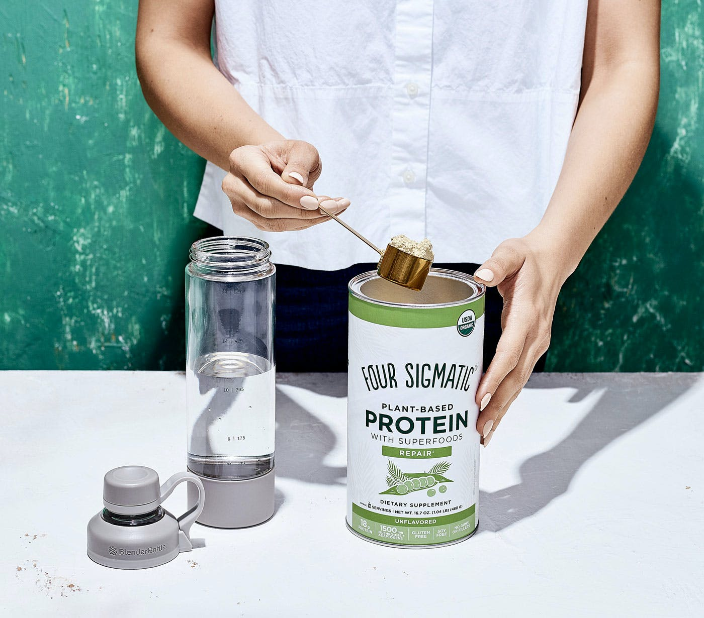 Plant-Based Protein Pour