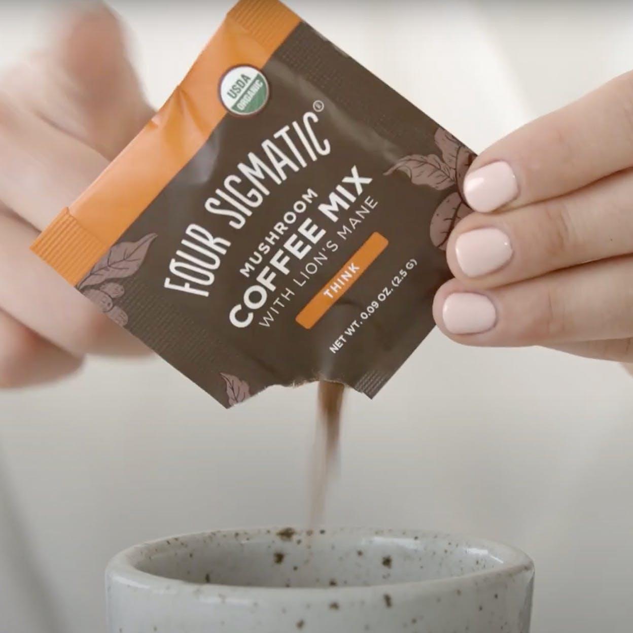 Mushroom Coffee Video