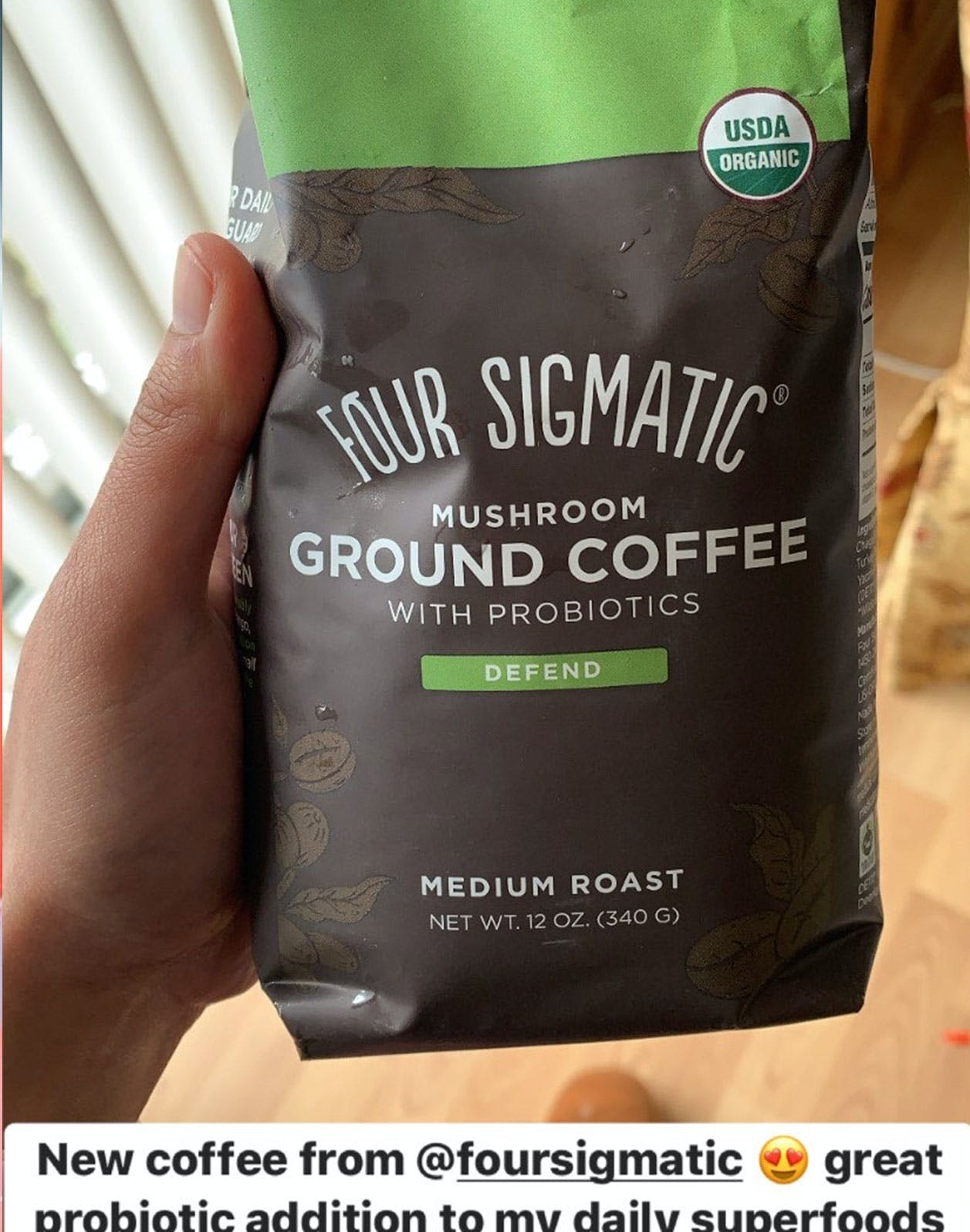 Mushroom Ground Coffee