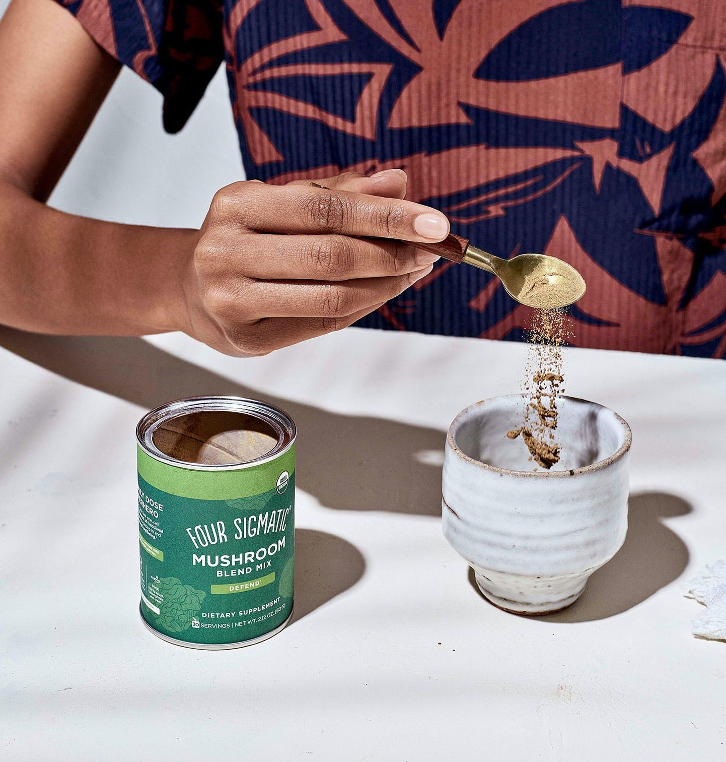 Mushroom Blend Pour