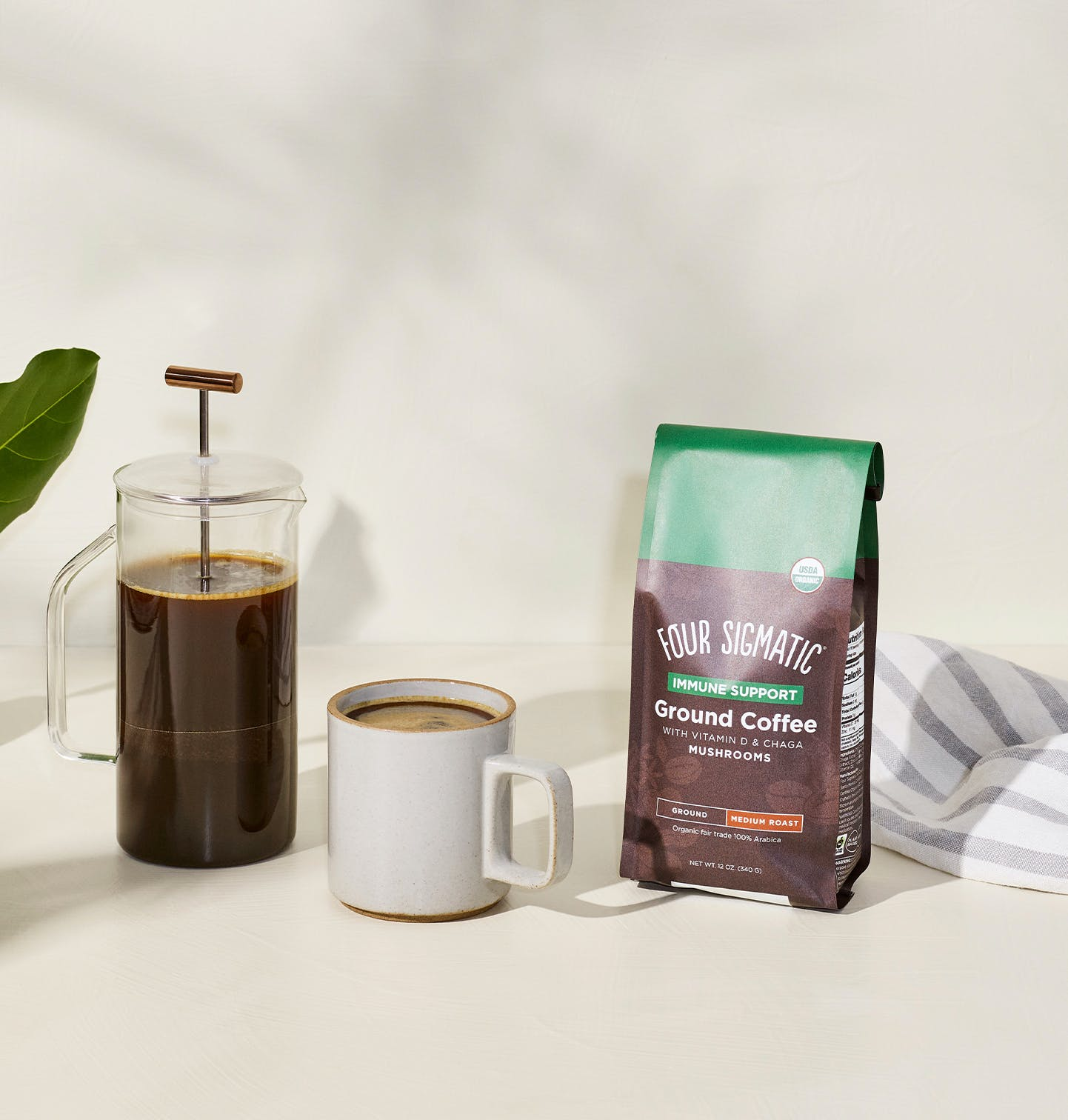 Immune Support Ground Coffee