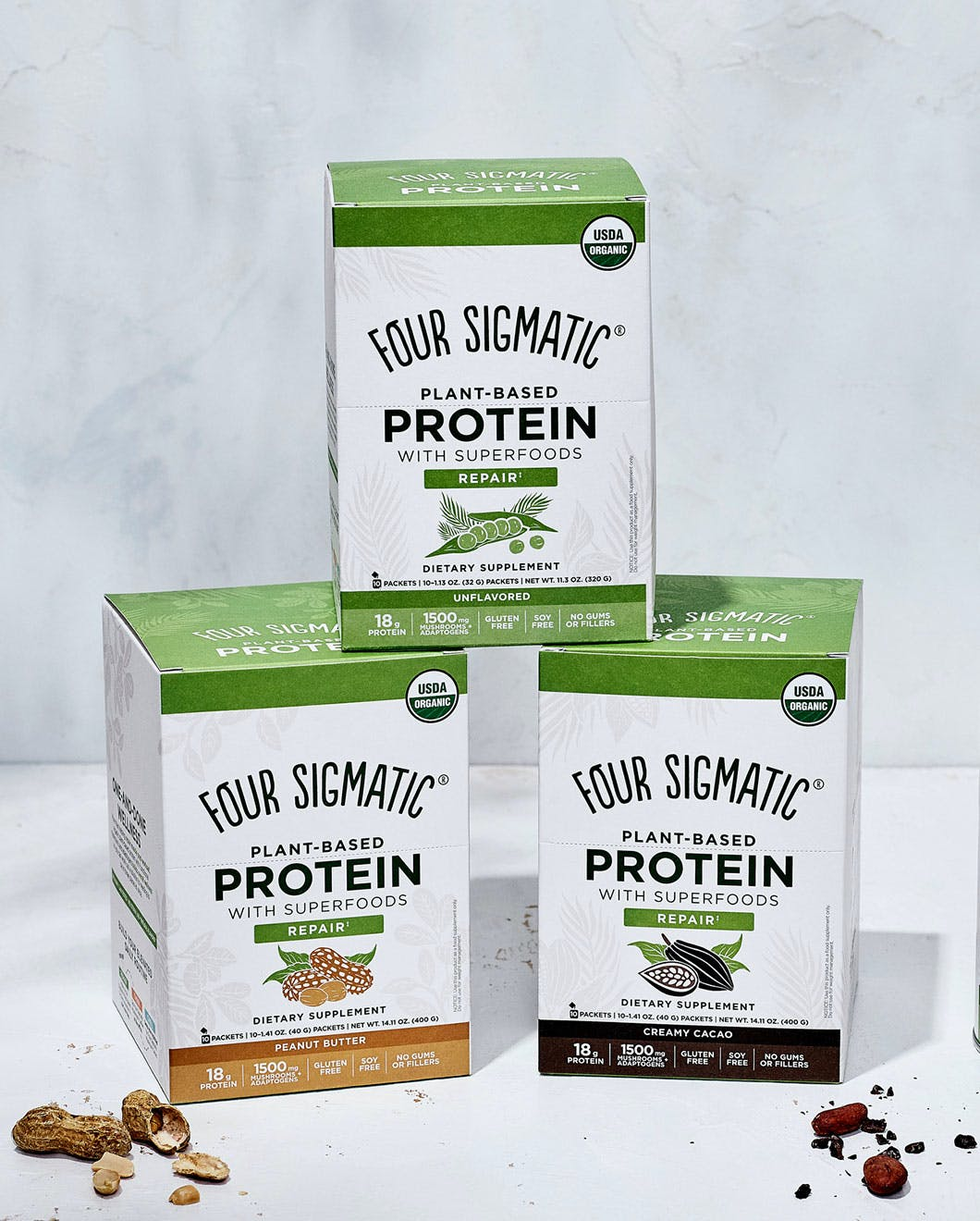 3 Protein Flavors