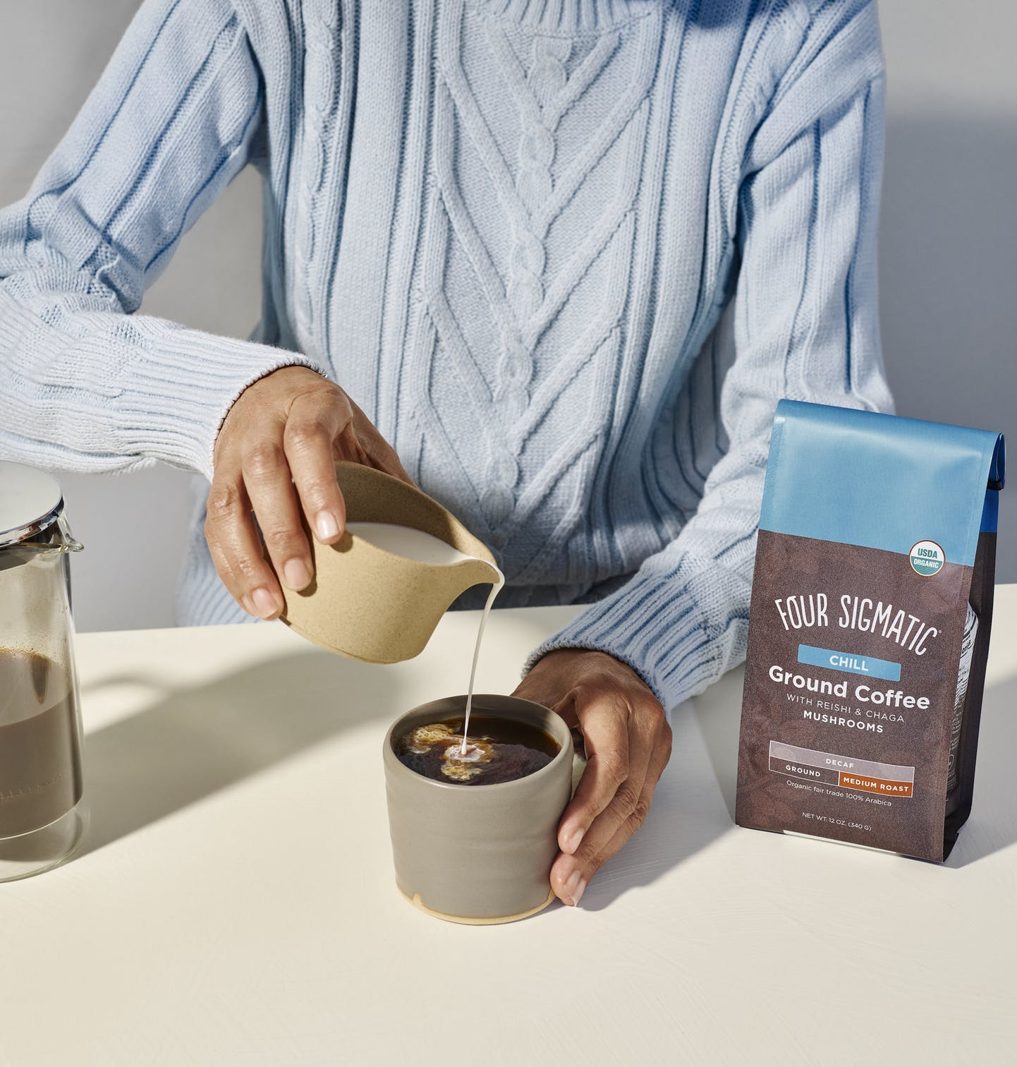 Chill Decaf Ground Coffee
