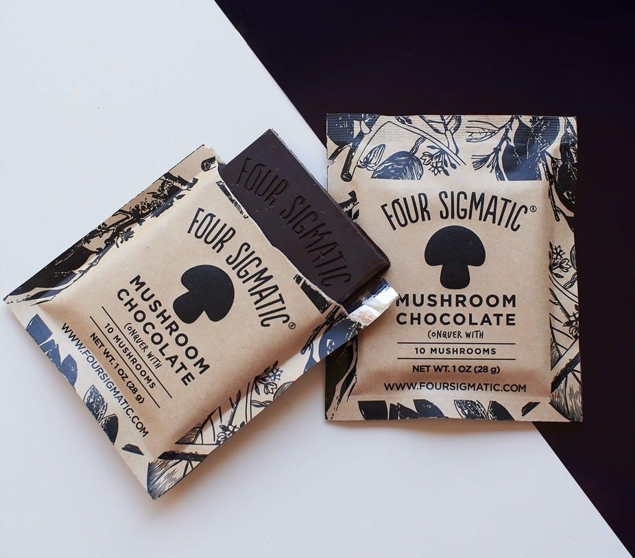 mushroom chocolate