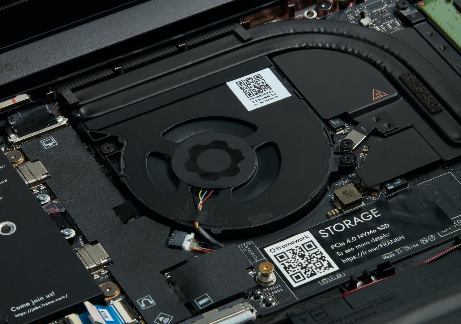 Framework Laptop mainboard fan