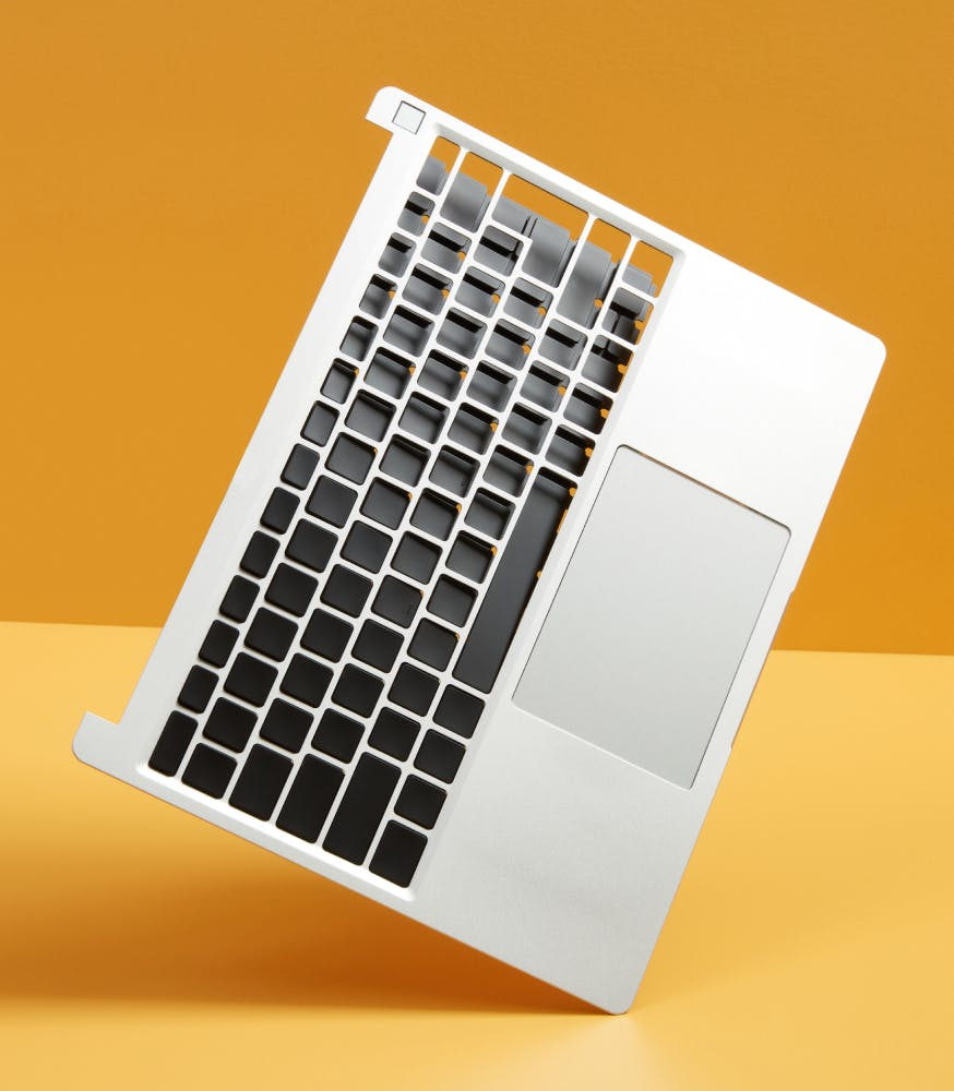 Input cover with keyboard peeling off