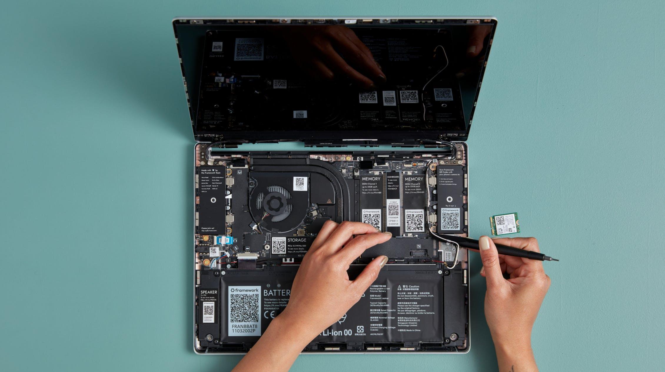 Upgrading Framework Laptop motherboard
