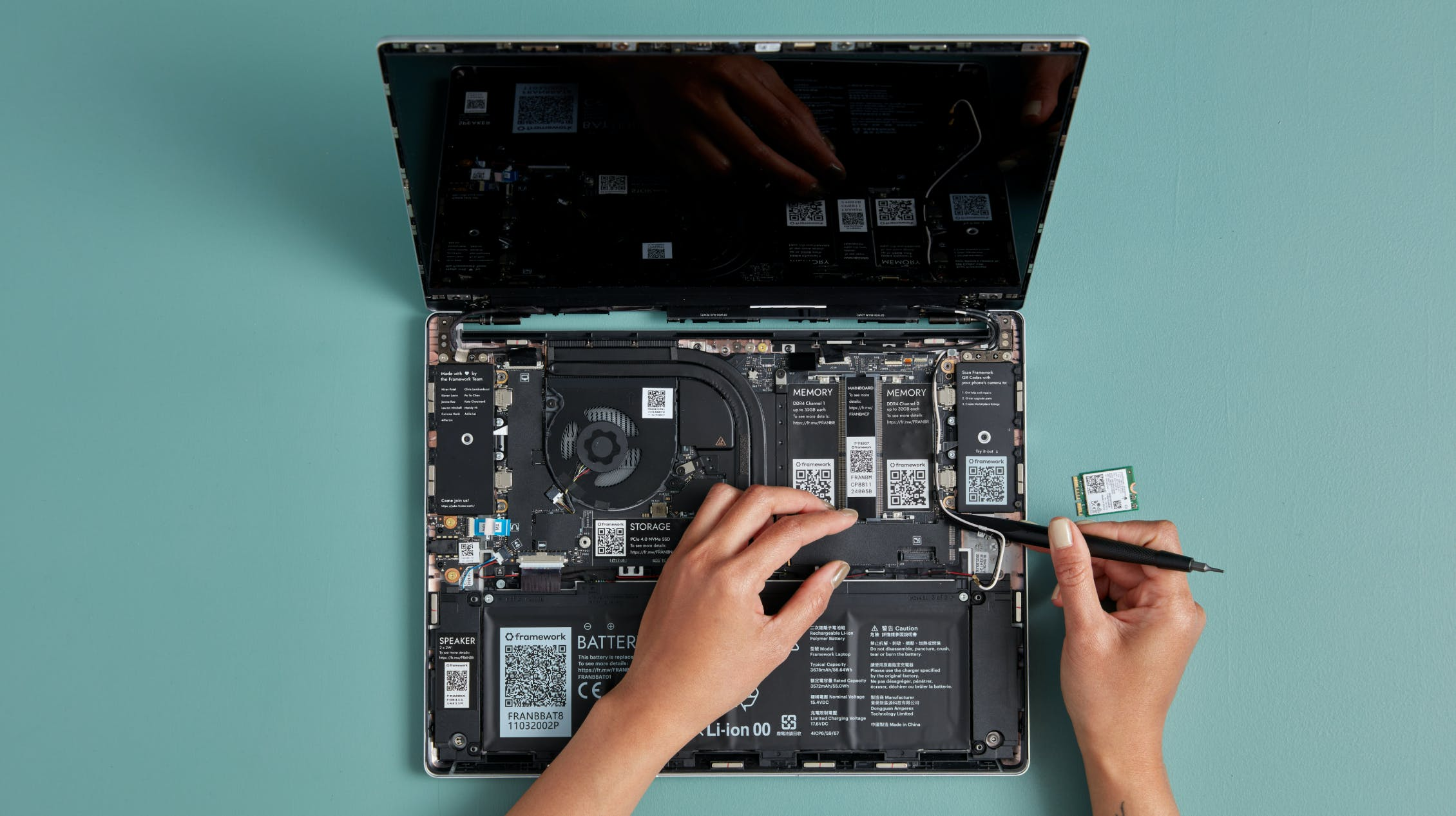Upgrading Framework Laptop mainboard