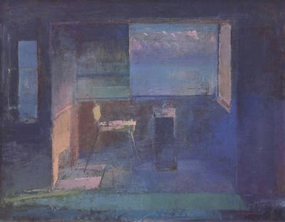 Studio, Lifeboat House, Hythe, 1979
