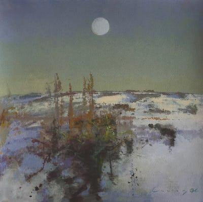 Dawn, Snowscape, 2006, Image and paper size: 40 x 40 cm