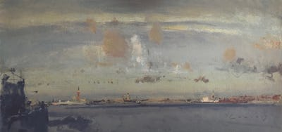 The Lagoon, Venice, 2010, Image and paper size: 24 x 51 cm