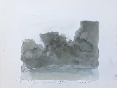 Cloud Study, Cornwall